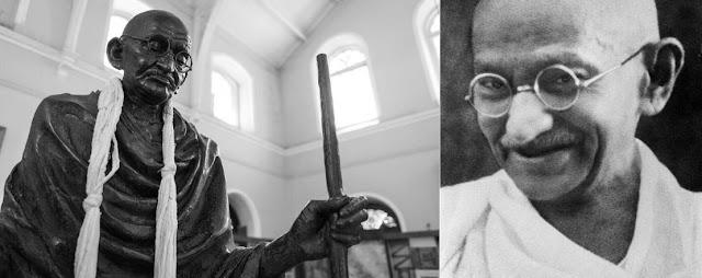 المهاتما غاندي صاحب الروح العظيمة