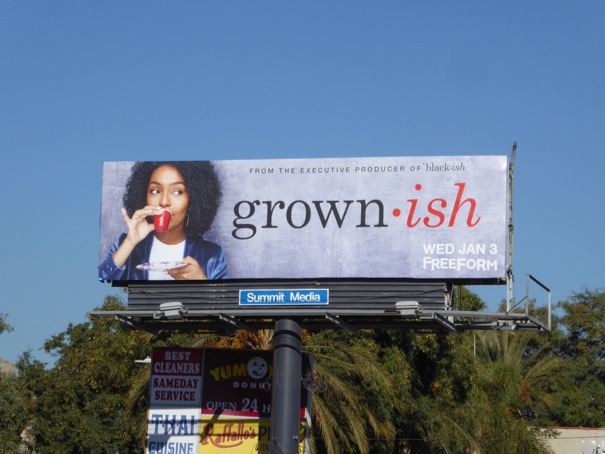 Grown-ish season 1 billboard