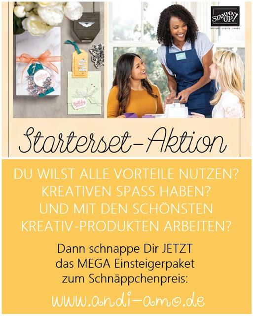 Stampin Up Starterset Aktion Zusatz Gratisprodukte