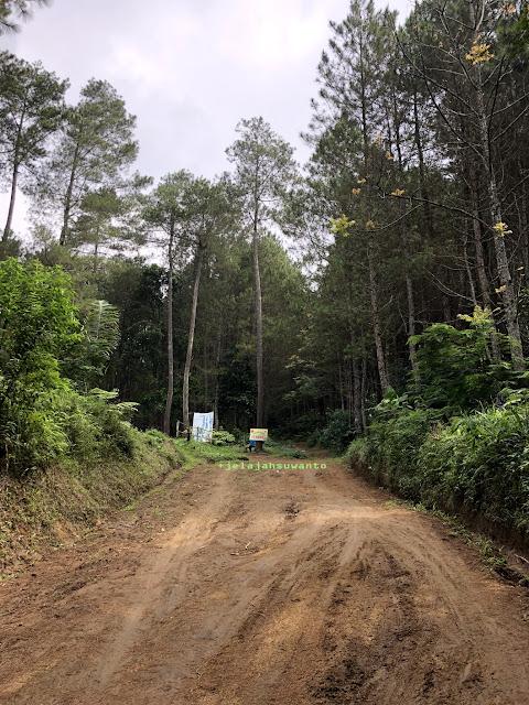 Melewati jalan tanah menuju Curug Badak Batu Hanoman Tasikmalaya|| JelajahSuwanto
