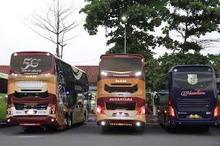 Bus MAN R37 dan RR4 Terbaru PO Nusantara