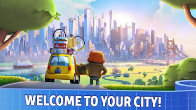 City Mania Town Building MOD Apk Unlimited Cash Coins Terbaru for Android 2017