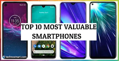 10 Most Prevalent Or Popular Smartphones Of 2019