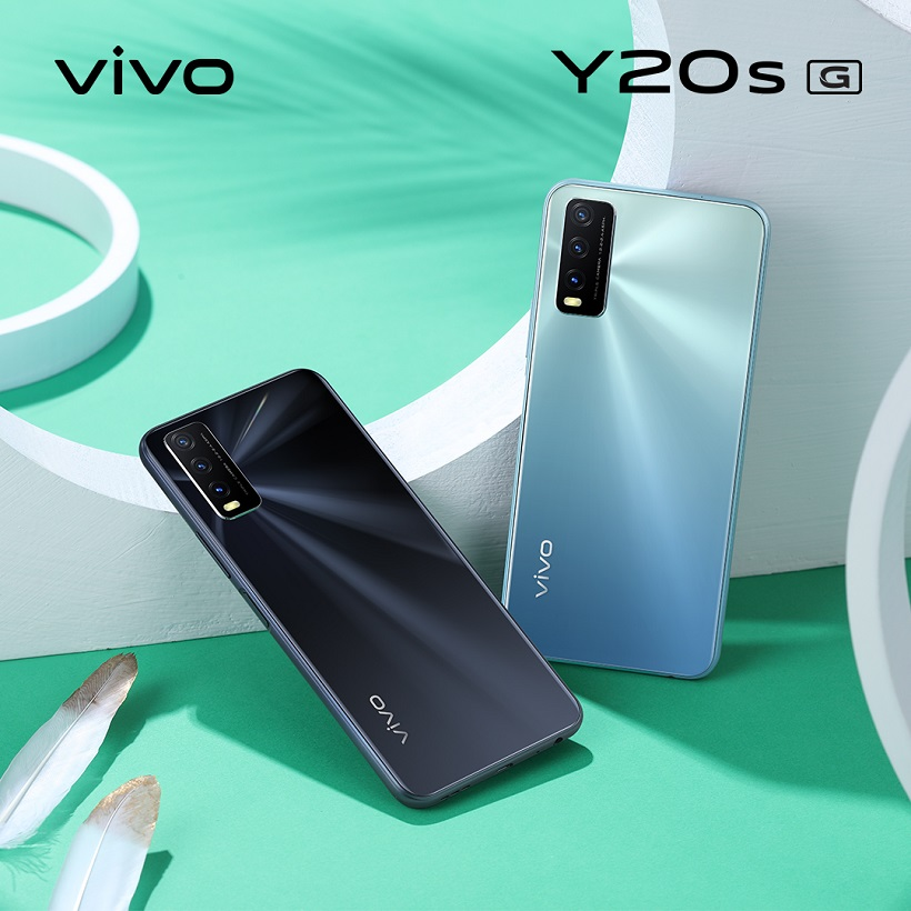 vivo Y20s (G) now available, bundled with free TWS earphones