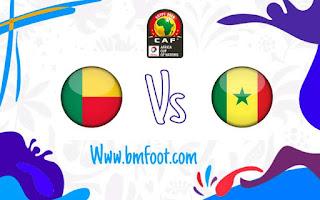 مشاهدة مباراة السنغال البنين مباشر