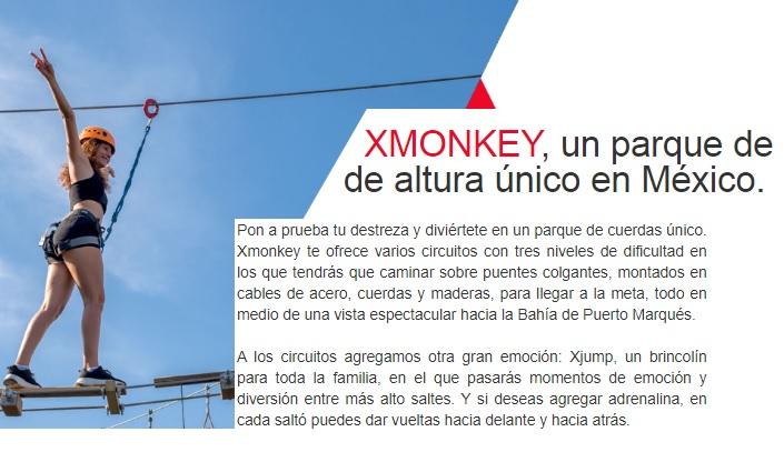 Xmonkey en Acapulco by Xtsea Parque de Tirolesas
