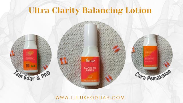 BASE Ultra Clarity Balancing Lotion