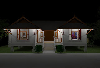 บ้าน ชั้น เดียว ยก สูง ราคา ประหยัด
