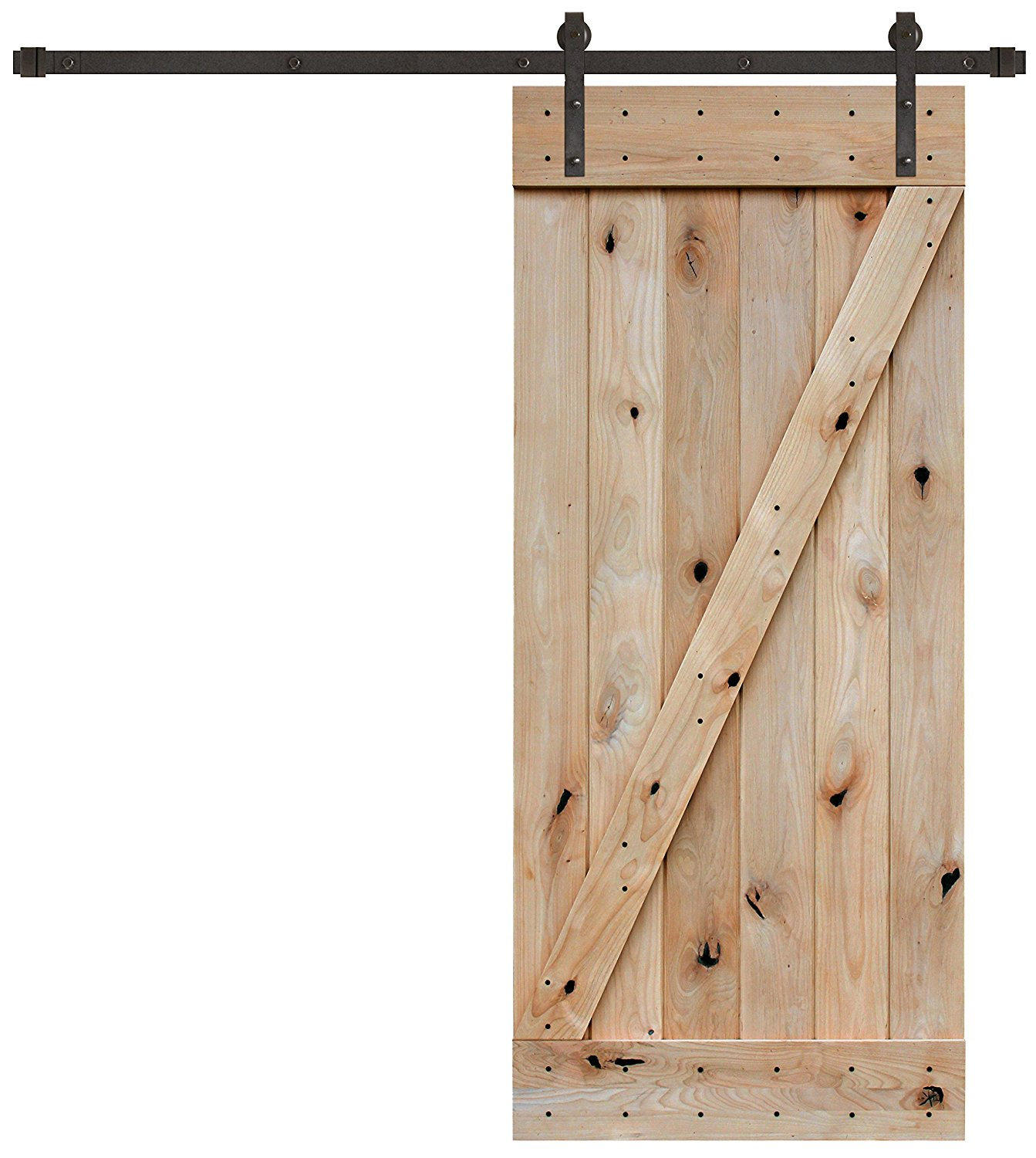 Choosing wood doors for the fixer upper diy hello lovely for Custom barn door kits