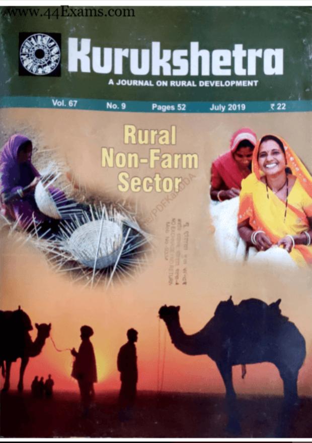 Kurukshetra-Current-Affairs-July-2019-For-UPSC-Exam-PDF-Book