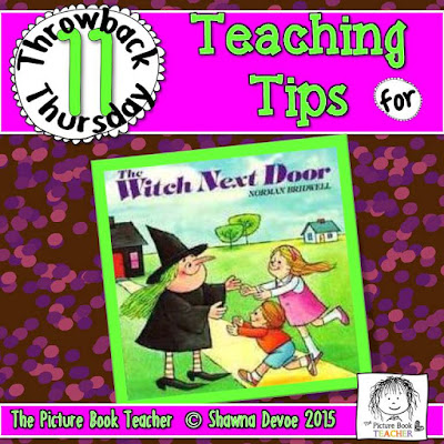 The Witch Next Door by Norman Bridwell TBT - Teaching Tips.