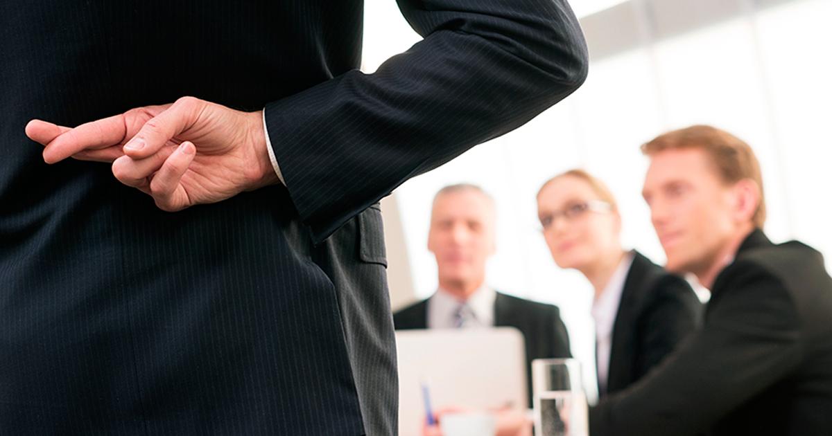 Recrutador revela as mentiras mais frequentes no seu dia a dia de trabalho