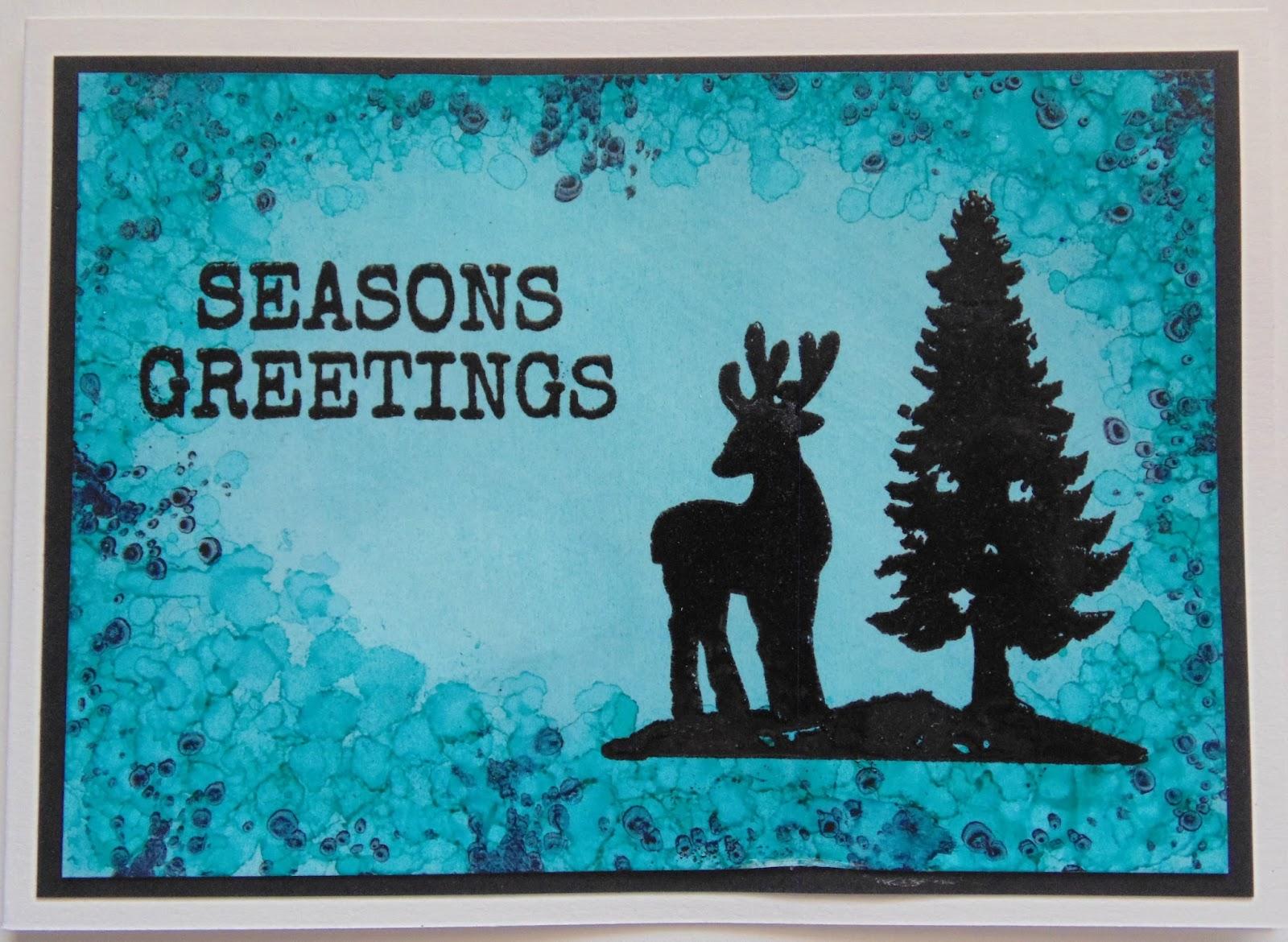 Inky Finger Zone: Seasons Greetings
