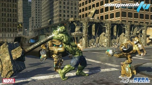 El Increíble Hulk PC Full Español Descargar DVD5