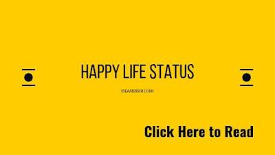 happy life status