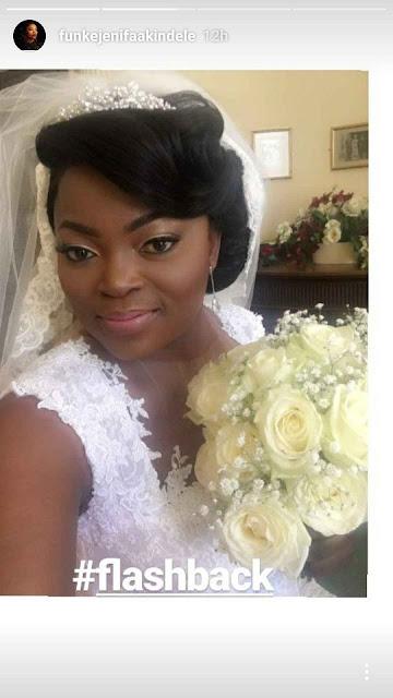 Funke Akindele Wedding Photo