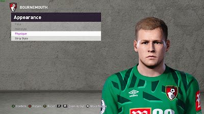 PES 2020 Faces Aaron Ramsdale