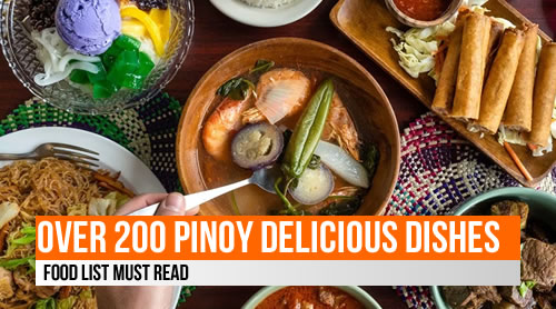 LIST: 200+ Philippine delicious dishes