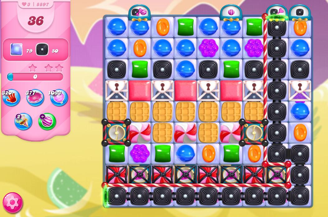 Candy Crush Saga level 8897