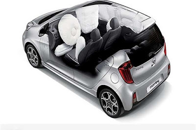 KIA Picanto with airbag image