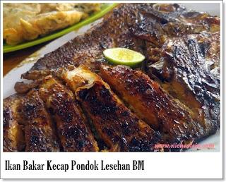 Kuliner Anyer Enak Murah Pondok Lesehan BM