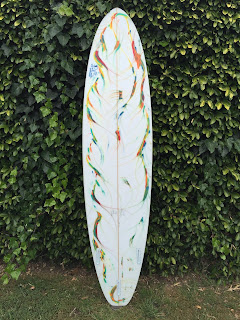 Custom Surfboards and art by Paul Carter