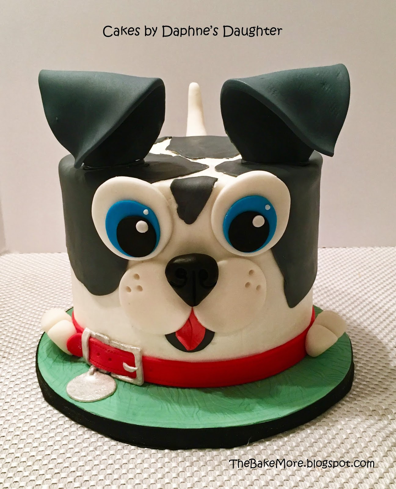The Bake More Easy Puppy Dog Face Cake