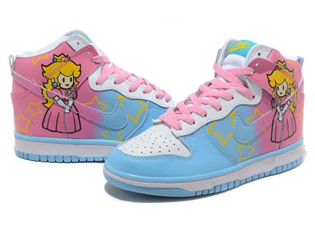 Super Mario Nikes Princess Peach Shoes For Sale 2011  e2a16bec8