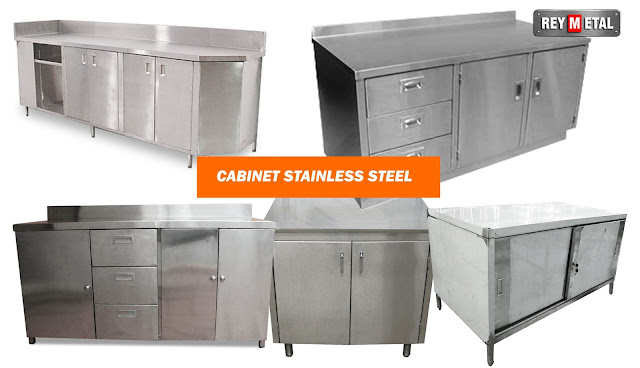 Kitchen set Stainless Steel di Jogja
