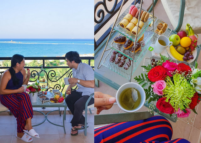 Danat Jebel Dhanna Resort room balcony