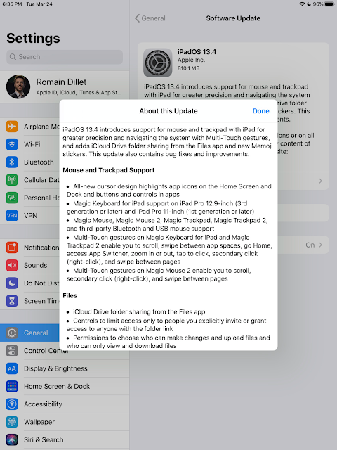 Apple releases official iOS 13.4 for iPhones and iPadOS 13.4 for iPads