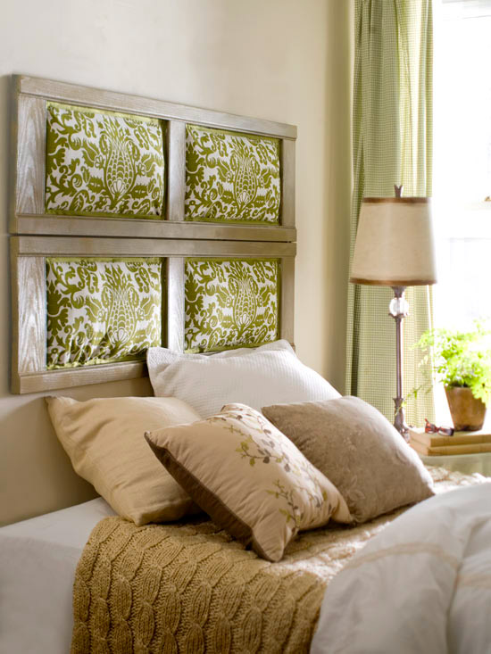 Headboards you can make 2012 ideas home interiors - Make your own headboard ...
