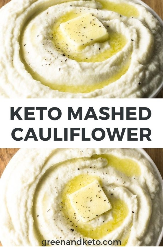 Creamy Keto Mashed Cauliflower 'Potatoes'