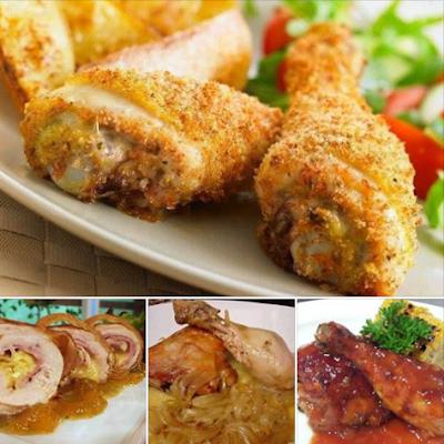 Recetas de carnes de pollo muy deliciosas