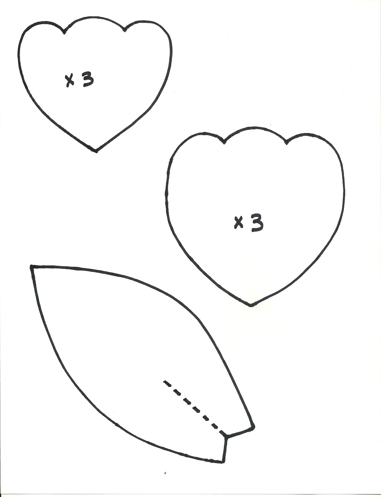 Free 12 flower petals coloring pages