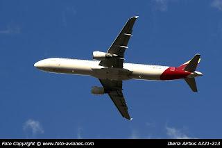 AVIÓN AIRBUS A321 EC-JGS