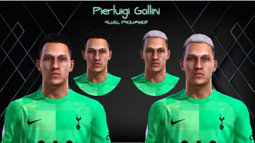 Pierluigi Gollini Face For Pro Evolution Soccer 2013