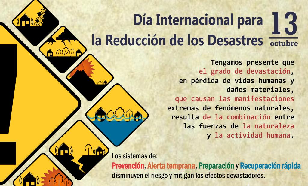 RESPLANDOR.COM.DO: Efeméride 13 octubre: Día Internacional ...