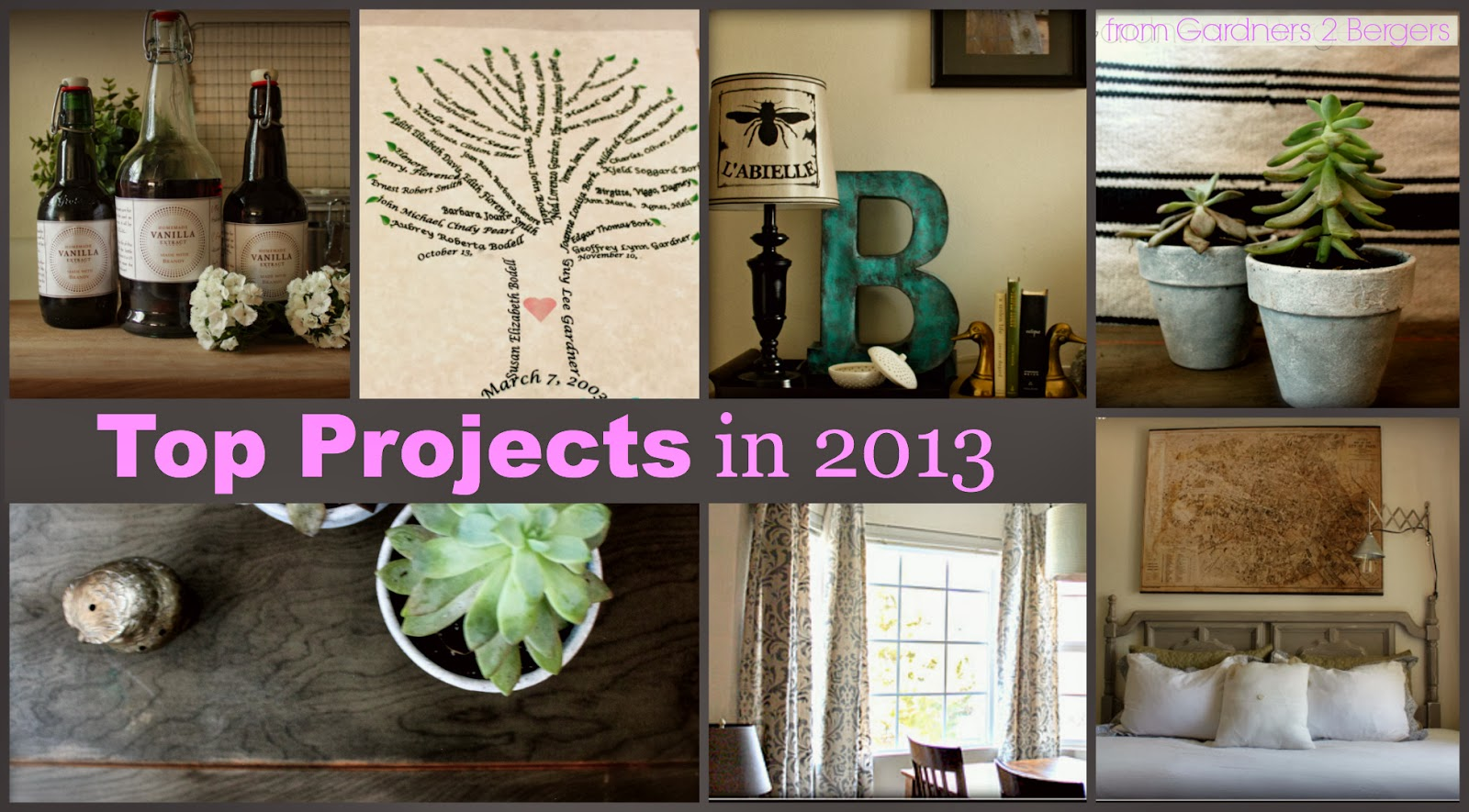 From Gardners 2 Bergers Top 10 Projects In 2013