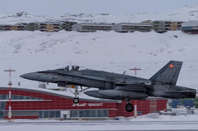 RCAF fighter training Arctic