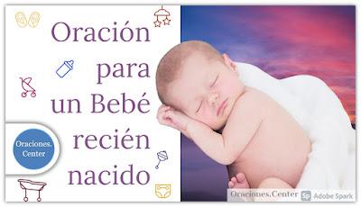 Oración para un Bebé recién nacido