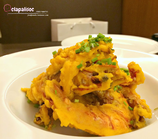 Prawns with Salted Egg from Coca SM Aura