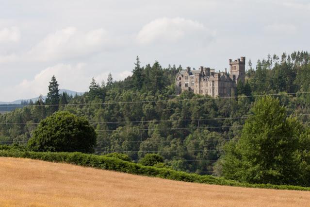 Castello nei pressi delle Falls of shine