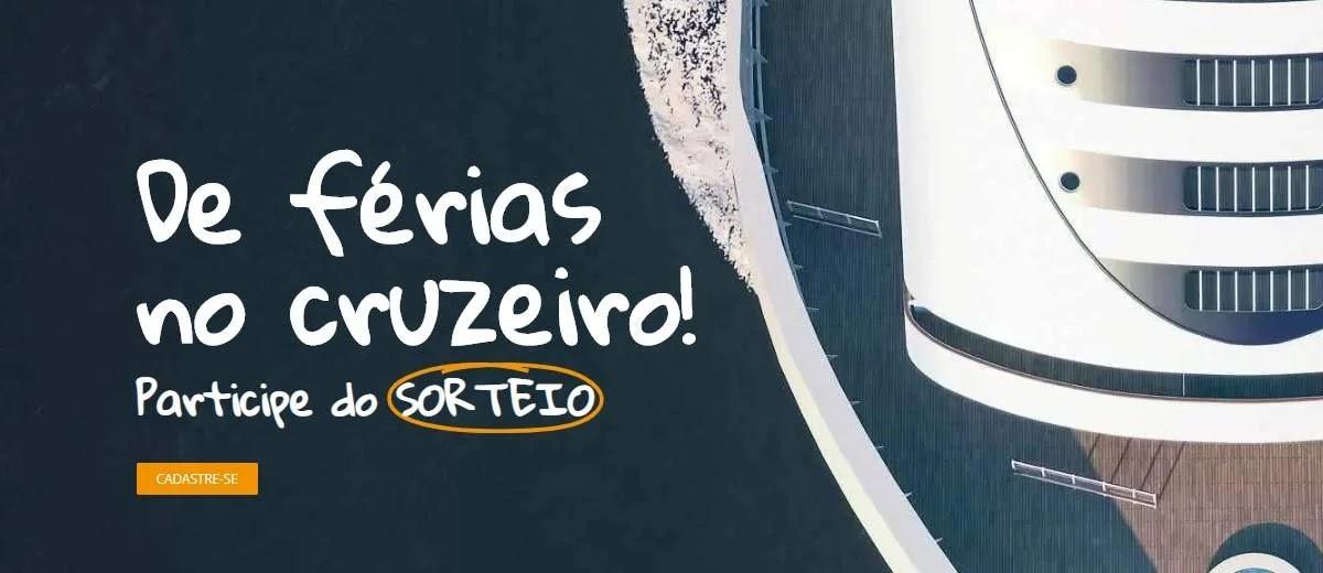 Promoção Cobox Viagens 2020 Cruzeiro com Acompanhante Grátis - Cadastrar, Sorteio