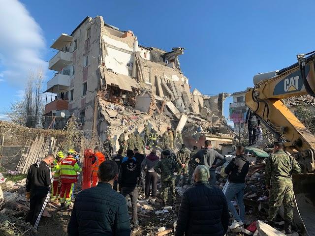 Albanija nakon zemljotresa: 14 poginulih, oko 600 povrijeđenih