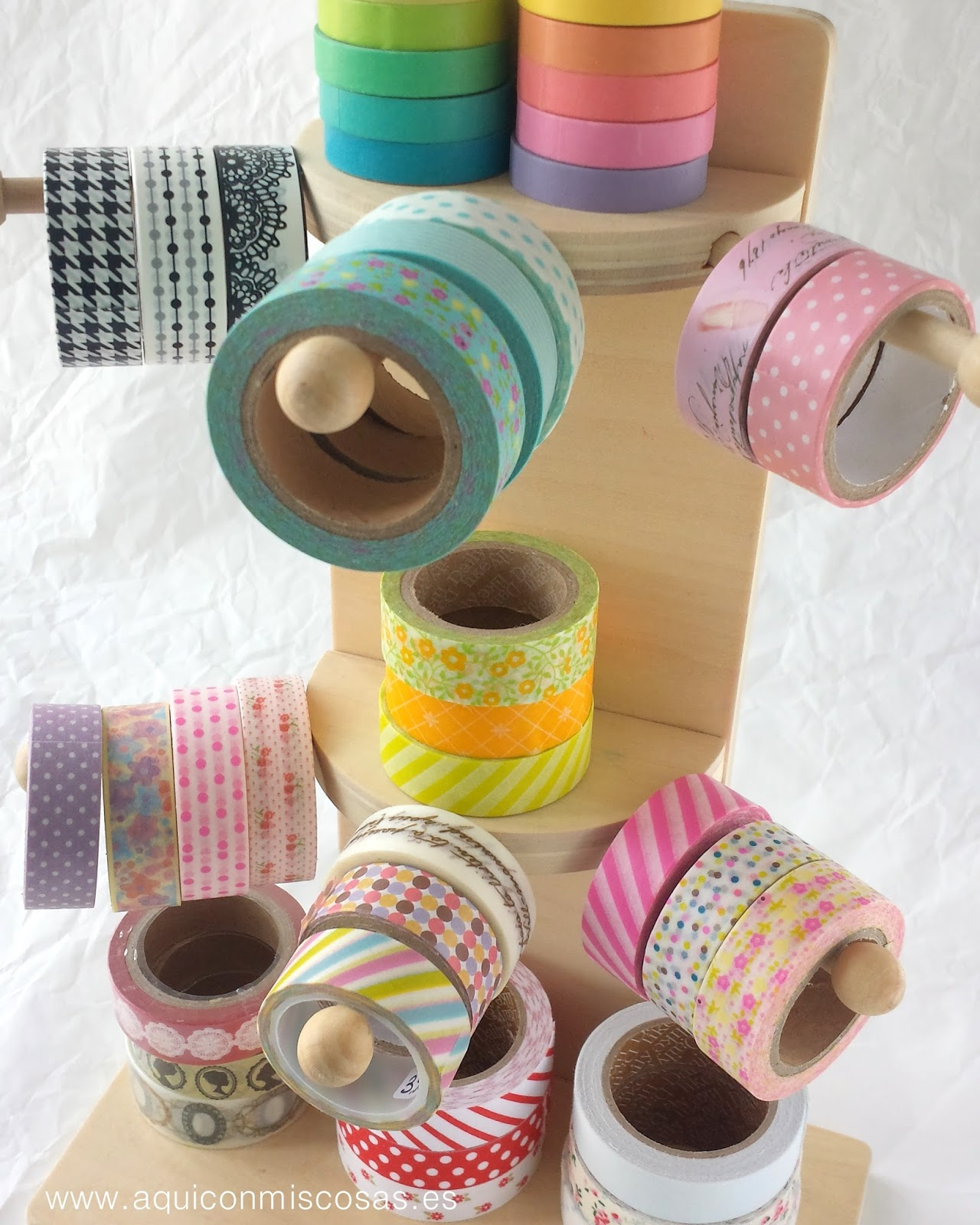 DIY: ETIQUETAS CON WASHI TAPE