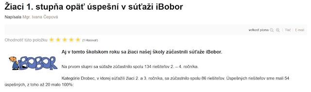 http://zshu.sk/index.php/nase-uspechy/uspechy-2019-2020/item/1436-ziaci-1-stupna-opaet-uspesni-v-sutazi-ibobor