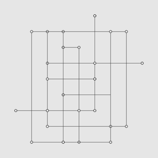 Drawing lines by x-y axis example image 01.