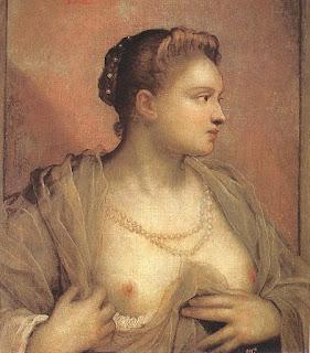 Подборка картин  «Портрет женщины  с обнаженной грудью»