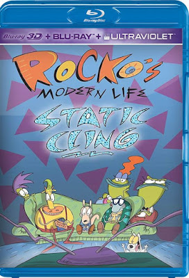 Rocko's Modern Life Static Cling 2019 HD 1080p Dual Latino